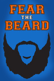 Fear The Beard OKC Sports Poster Posters