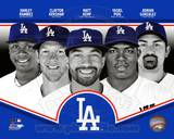 Los Angeles Dodgers 2013 Team Composite Photo