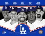 Los Angeles Dodgers 2013 Team Composite Photo