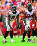 Julio Jones & Roddy White 2012 Action Photo