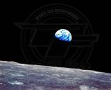 View of Earth from Apollo 8 Photo