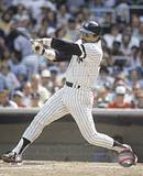 Reggie Jackson - Batting Action Photo