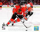 Patrick Kane Game One of the 2010 NHL Stanley Cup Finals Photo