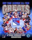 New York Rangers All-Time Greats Composite Fotografía