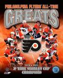 Philadelphia Flyers All-Time Greats Composite Fotografía