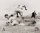 Ty Cobb - Sliding into base Photo