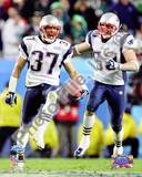 Rodney Harrison & Mike Vrabel - Super Bowl XXXIX - celebrate victory Photo