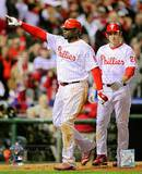 Ryan Howard & Chase Utley Game 4 of the 2008 MLB World Series Photo