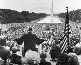 Martin Luther King, Jr. Speech, Washington, DC., 1957 Photo