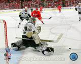 Marc-Andre Fleury in Game 5 of the 2008 NHL Stanley Cup Finals; Action 17 Photo
