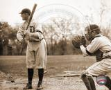 Ty Cobb - Batting, sepia Photo
