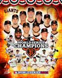 San Francisco Giants 2012 World Series Champions Composite Photo