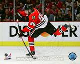 Patrick Kane 2012-13 Playoff Action Photo