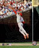 Ozzie Smith Fielding Action Photo