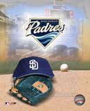 San Diego Padres - '05 Logo / Cap and Glove Photo