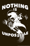 Nothing is Unpossible Snorg Tees Plastic Sign Plastic Sign