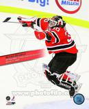 Martin Brodeur Winningest Goaltender in NHL history with 552 wins With Overlay Photo
