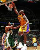 NBA Shaquille O'Neal Action Photo