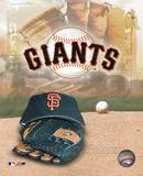 San Francisco Giants - '05 Logo / Cap and Glove Photo