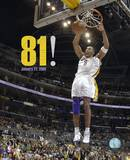 Kobe Bryant - Lakers 81 Point Game (1/22/06) Photo