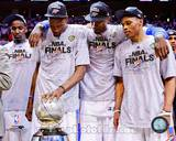 Kendrick Perkins, Kevin Durant, Serge Ibaka, & Russell Westbrook with the 2012 NBA WCFC Game 6 Photo
