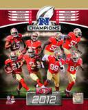 San Francisco 49ers 2012 NFC Champions Composite Photo