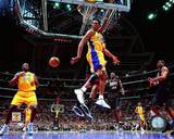 Kobe Bryant & Shaquille O'Neal 2001 NBA Finals Action Photo