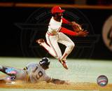 Ozzie Smith - Turning Double Play Photo