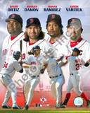 "Red Sox - 2005 ""BIG 4"" HITTERS Photo"