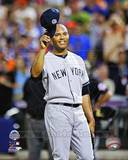 New York Yankees Mariano Rivera 42 salutes the crowd 84th MLB All-Star Game July 16, 2013 Photo