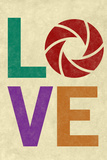 Love Aperture graphy Plastic Sign Wall Sign