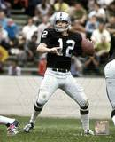Ken Stabler - Passing Action Photo