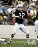 Ken Stabler - Passing Action Photo