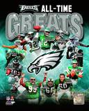 Philadelphia Eagles All Time Greats Composite Photo