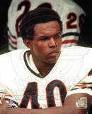 Gale Sayers - Close up, sidelines Photo