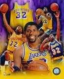 Magic Johnson - Legend of the Game Composite Photo