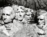 Mount Rushmore under Construction Photo