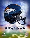 NFL Denver Broncos Helmet Logo Photofile Photo