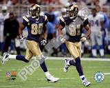 Isaac Bruce And Torry Holt Photo