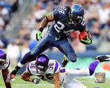 Marshawn Lynch 2011 Action Photo