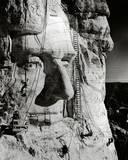Mount Rushmore under Construction Photo