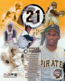 Roberto Clemente - Legends of the Game Composite Photo
