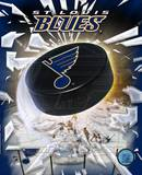 St.Louis Blues 2005 - Logo / Puck Photo