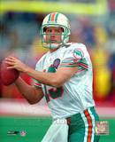 Dan Marino - Close up, action Photo