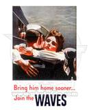 Women Accepted for Volunteer Emergency Service (WAVES) World War Two Photo