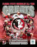 Florida State University Seminoles All Time Greats Composite Photo