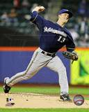 Zack Greinke 2012 Action Photo
