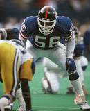 Lawrence Taylor - Defensive Stance Photo