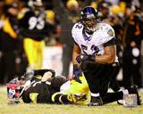 Ray Lewis 2008 AFC Championship Game Photo