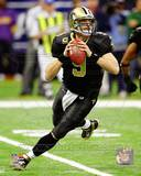Drew Brees 2011 NFC Wild Card Playoff Action Photo